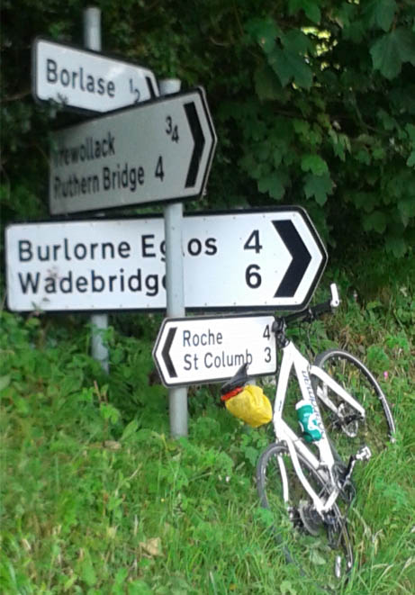 Cycling holiday in North Cornwall?