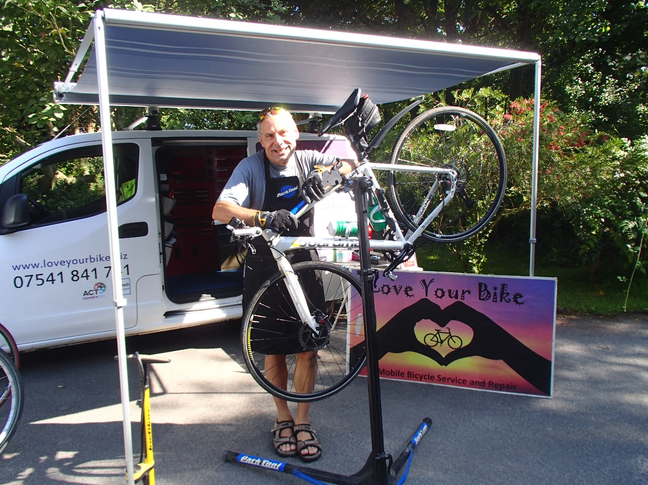 Mobile Bike repairs near Bude in North Cornwall